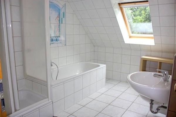 Haus Westerrönfeld - Zimmer 1 - Bad