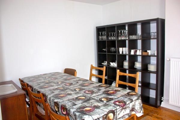Haus Büdelsdorf - Wohnung 4 - Esszimmer