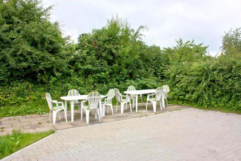 Haus Büdelsdorf - Sitzmöglichkeiten im Garten