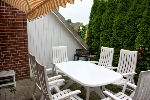 Haus Westerrönfeld - Terrasse